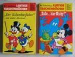 Lustige Taschenbücher von Disney: wertvolle Erstausgaben