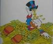 Dagobert Duck, der bekannteste Münzsammler der Welt