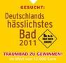 Wettbewerb: Wer hat Deutschlands hässlichstes Bad? © Deutsche Fliese